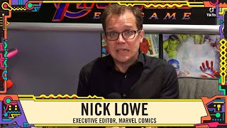 Marvel Editor Nick Lowe on Runaways, Spider-Man and more at SDCC 2019!