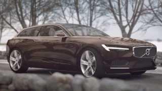 2014 Volvo Concept Estate  Trailer