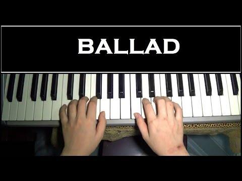 Hướng dẫn đệm hát Ballad đơn giản Piano Tutorial