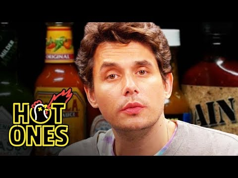 Download Lagu  John Mayer Has a Sing-Off While Eating Spicy Wings | Hot Ones Mp3 Free