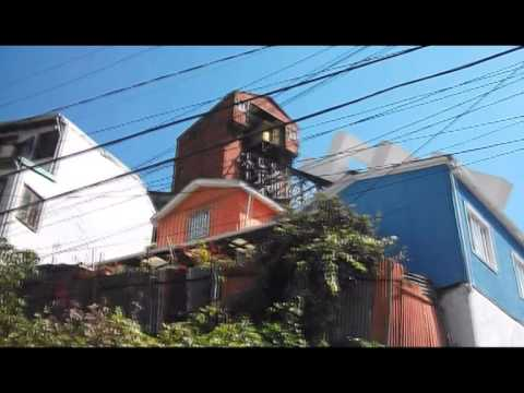 Funiculars of Valparaiso, Chile no longer in operation