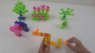 Xếp hình các con vật - Xếp hình lego
