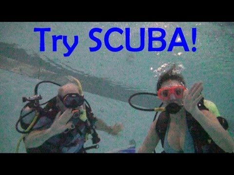 Try Scuba Central NH Divers Oct 2012