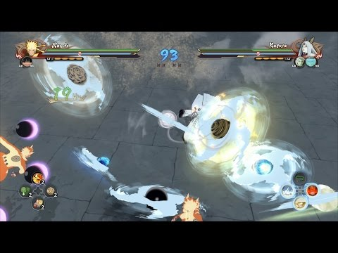 Naruto Ultimate Ninja Storm 4 - Rinnegan Sasuke & Six Paths Naruto vs Madara, Kaguya, Obito (1080p)