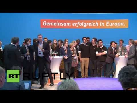 Germany: Polls closed, CDU members await results