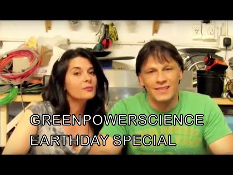 EARTH DAY 2010 SPECIAL 4 simple tips for Going Green by Green Power Science Video