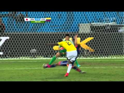 World Cup 2014 Group C Japan vs Colombia 2014 All Goals/Japonia - Kolumbia