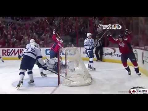 Eric Fehr Goal (8) Apr 13 2013 Tampa Bay Lightning vs Washington Capitals NHL