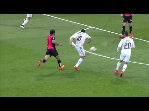 Real Madrid (3) vs (0) UD Almeria La Liga BBVA