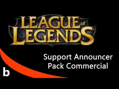 Support Announcer Pack Commercial