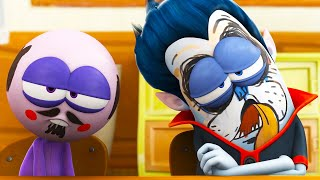 Download lagu Who Drew On Cula's Face? | Spookiz | Cartoons for Kids