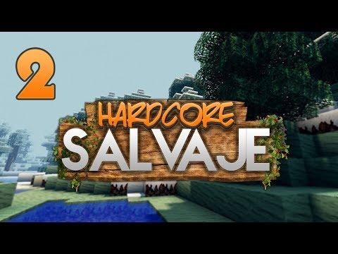 HARDCORE SALVAJE: QUÉ HAMBRE TENGO! | Episodio 2 | MINECRAFT MODS SERIE