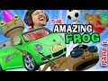 BEST GAME EVER!  The Amazing Frog that Farts Part 1 w/ FGTEEV...