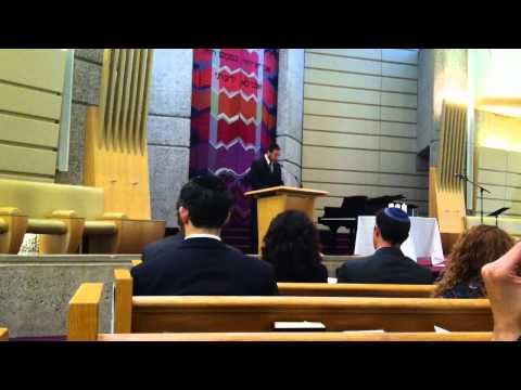 Adat Shalom - Community-Wide Memorial Service - Rabbi Yechiel Morris - Psalm 23 - 07/03/2014