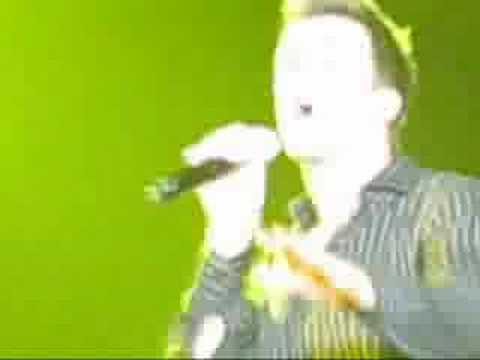 Gavin Creel singing Moving Too Fast