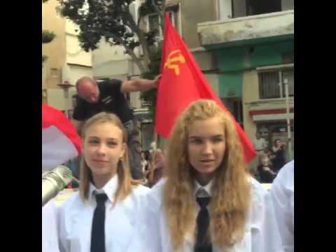 Парад победы 2016 прямая трансляция из Хайфы,Израиль!
