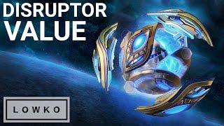 StarCraft 2: DISRUPTOR VALUE!