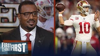 If Jimmy G plays like he did vs Cardinals, 49ers can make playoffs— Canty | NFL | FIRST THINGS FIRST