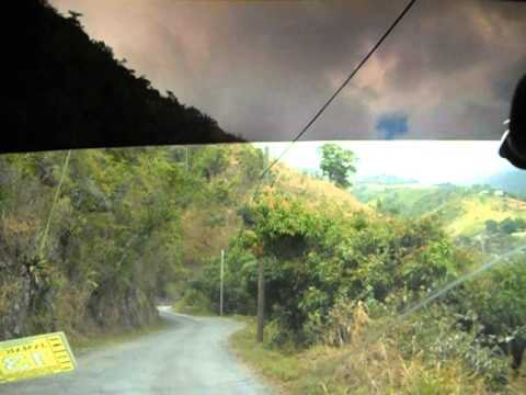 BLUE MOUNTAIN SCENERY - JAMAICA (FEB 13TH 2013)