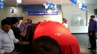 Tata Tiago NRG launch by vice president sales A.s Barman in Varanasi