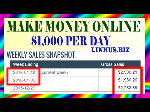 How To Make Money Online - Best Way To Make Money Online Fast 2017 Earn $1,000 Per Day