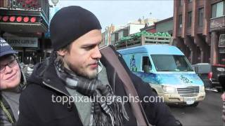 Charlie Hunnam - Signing Autographs at the Sundance Film Festival