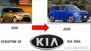 Evolution of Kia Soul (2010-2020)