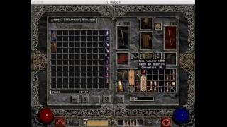 Diablo II   hardcore   Patch 1.07   Fireball sorc