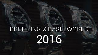 Baselworld 2016 - Breitling z Olivierem Janiakiem