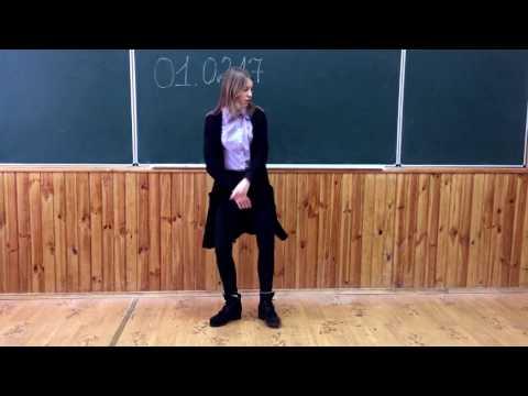 Шафл Дэнс в школе #Olya Peleshok