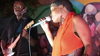 Emeline Michel at Big Night in Little Haiti