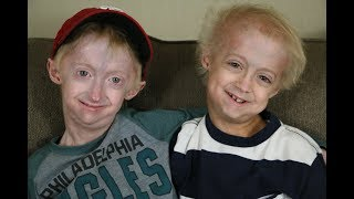 Brothers with Progeria (Nathan and Bennett)