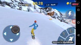 trò chơi trượt ván tuyết nhào lộn quá đã snow board manager cu lỳ chơi game vui nhộn