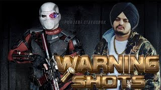 Warning Shots SIDHU MOOSE WALA Whatsapp Status  Pu