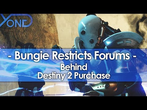 Bungie Paywalls their Forums Behind Destiny 2 Purchase