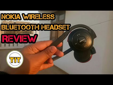 NOKIA BH-503 WIRELESS BLUETOOTH HEADSET REVIEW & HANDS ON | TECH IN TRACK !!!!