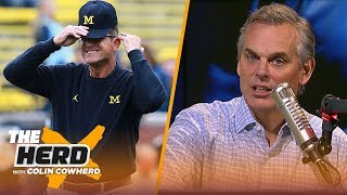 Colin on the 2018 Michigan vs. MSU matchup: 'Jim Harbaugh can flat out coach' | CFB | THE HERD