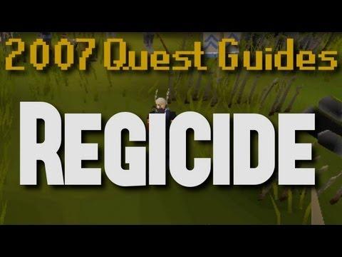 Runescape 2007 Quest Guides: Regicide