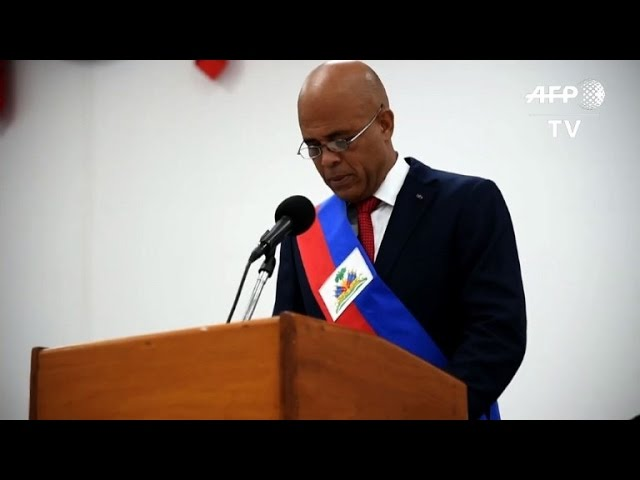 With no president in sight, Haiti gets transitional government