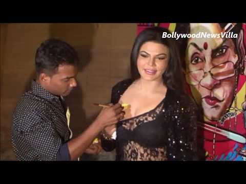 Rakhi Sawant shows her UNSEEN new CHEST TATOO.