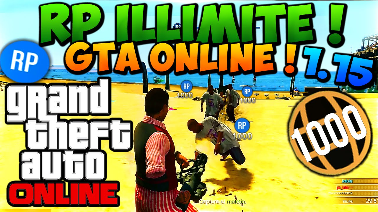gta 5 online how to get rp