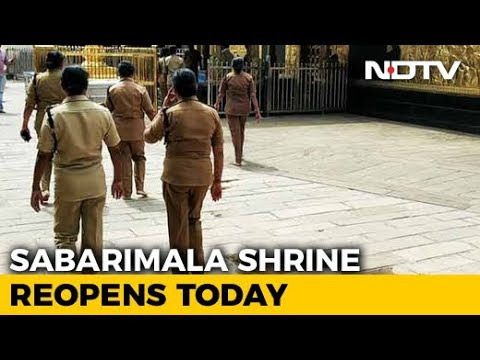 Women Cops, 50-Plus, On Guard As Sabarimala Temple Opens Today