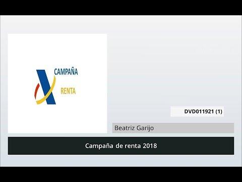 Novedades Campaña Renta 2018 | MasterD