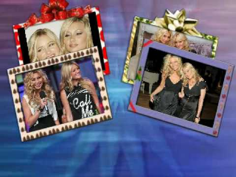 Aly And Aj We Three Kings W lyrics video