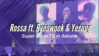 FANCAM 190615 Rossa ft. Ryeowook and Yesung - Tegar | Super Show 7S in Jakarta SS7Sinjkt