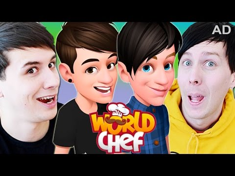 AD - WE'RE IN THIS GAME!  Dan and Phil Play: World Chef #2