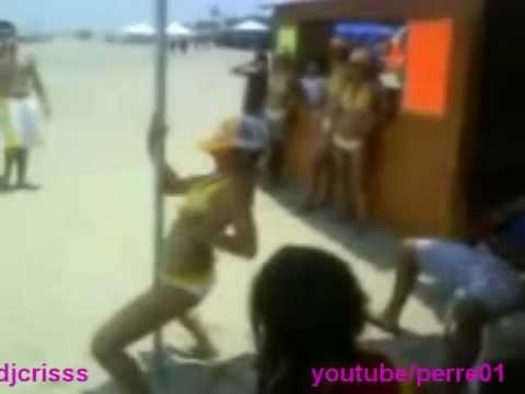 perreo intenso en la playa de  Venezuela 1.wmv