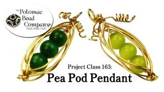 How to Make a Pea Pod Pendant (Project Class 163)