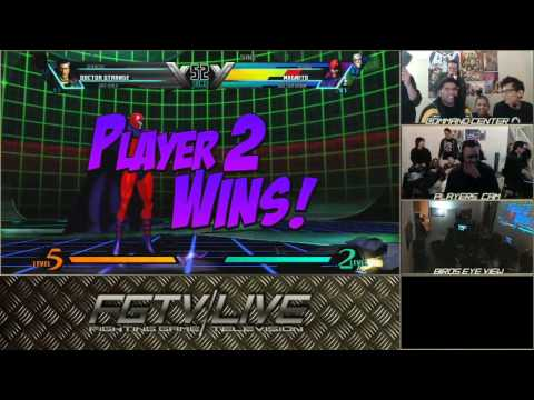 UMvC3 - Combofiend VS. CJ Showstopper FT10
