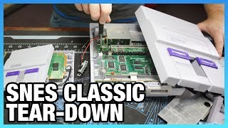 SNES Classic vs. Original SNES Tear-Down